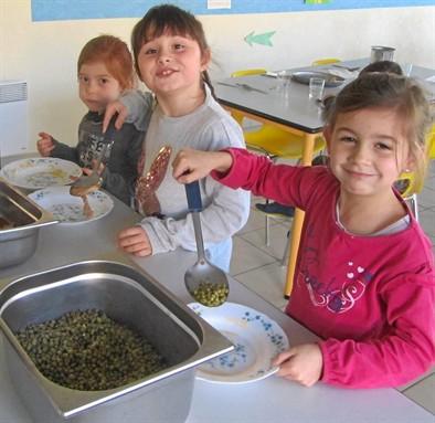 Le self service c 39 est le repas bonheur pour les enfants - Repas pour les enfants ...